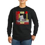 health nut santa Long Sleeve Dark T-Shirt