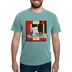health nut santa Mens Comfort Colors® Shirt