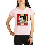 health nut santa Performance Dry T-Shirt
