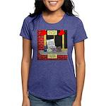 health nut santa Womens Tri-blend T-Shirt