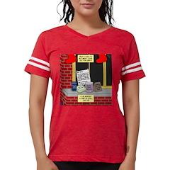 health nut santa Womens Football Shirt