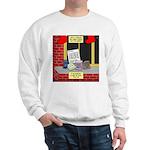 health nut santa Sweatshirt
