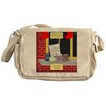 health nut santa Messenger Bag