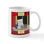 health nut santa 11 oz Ceramic Mug