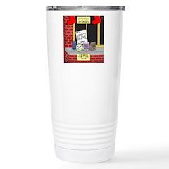 health nut santa Travel Mug