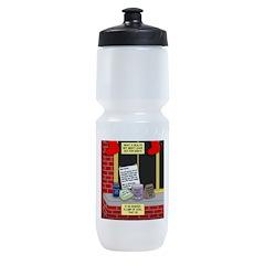 health nut santa Sports Bottle