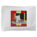 health nut santa Pillow Sham