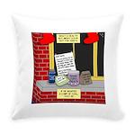 health nut santa Everyday Pillow