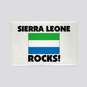 Sierra Leone Rocks Rectangle Magnet