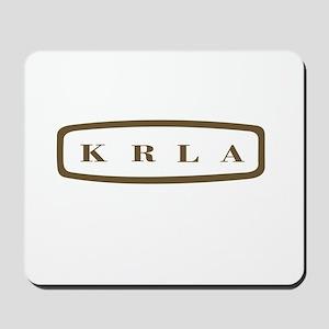KRLA Los Angeles 1967 -  Mousepad