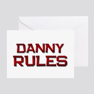 danny rules Greeting Card