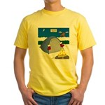 Christmas Campout Yellow T-Shirt