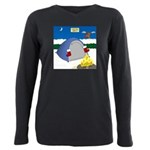 Christmas Campout Plus Size Long Sleeve Tee