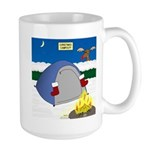 Christmas Campout 15 oz Ceramic Large Mug