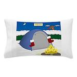 Christmas Campout Pillow Case