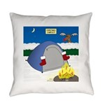 Christmas Campout Everyday Pillow
