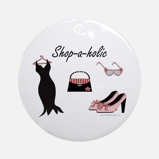 Shop-a-holic Ornament (Round)