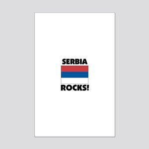 Serbia Rocks Mini Poster Print