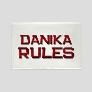 danika rules Rectangle Magnet