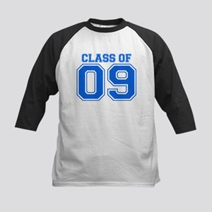 Class Of 09 (Blue Varsity) Kids Baseball Jersey