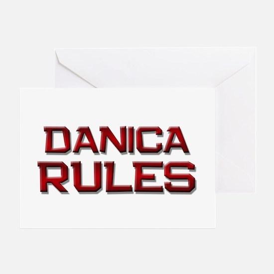 danica rules Greeting Card