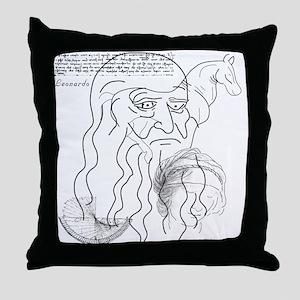 Leonardo Throw Pillow