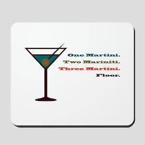 Martini Countdown Mousepad