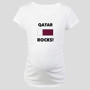 Qatar Rocks Maternity T-Shirt
