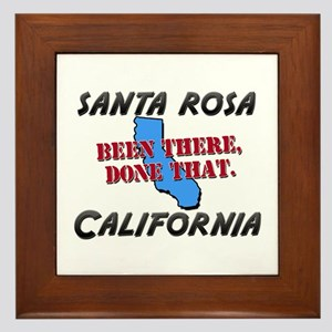 santa rosa california - been there, done that Fram