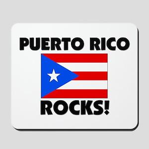 Puerto Rico Rocks Mousepad