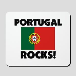 Portugal Rocks Mousepad