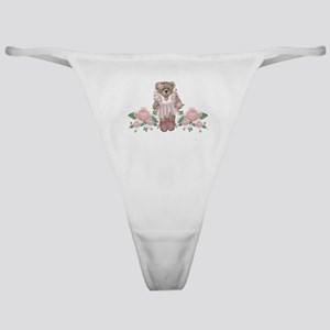 Beary Rosy Classic Thong