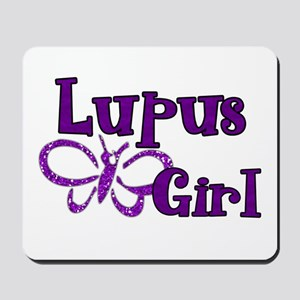 Lupus Girl Mousepad