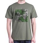 Celtic Puzzle Square Dark T-Shirt