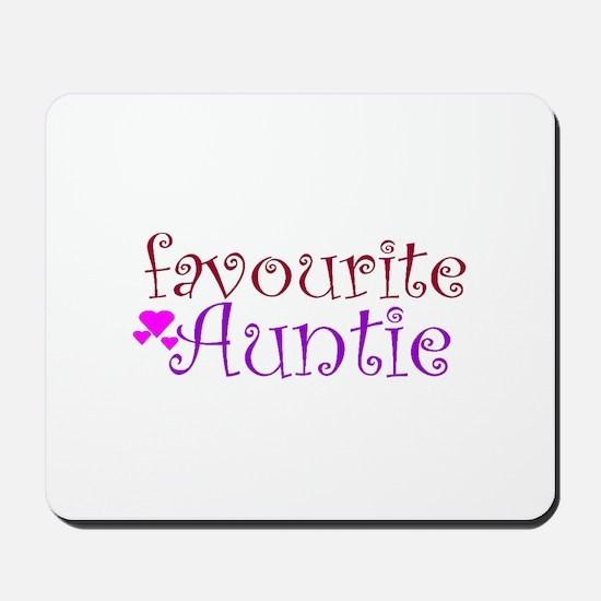 Favourite Auntie Mousepad