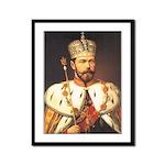 Tsar Nicholas Romanov II Framed Print