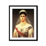 Alexandra Feodorovna Romanova Framed Print