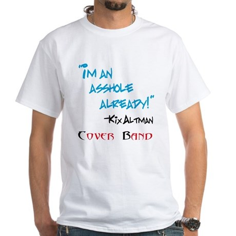 Cover Band White T-Shirt