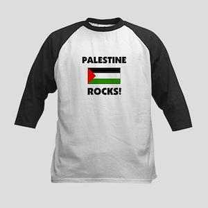 Palestine Rocks Kids Baseball Jersey