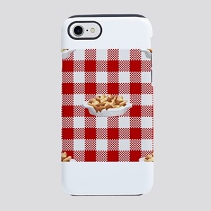 plaid poutine iPhone 7 Tough Case