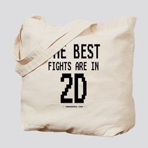 The Best Fights! 2D! Tote Bag