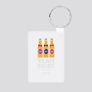 Team Bride Romania 2017 Chg2u Keychains