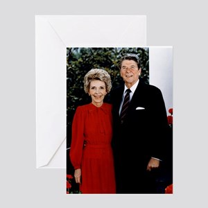 Ronnie and Nancy Greeting Card