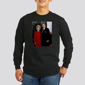 Ronnie and Nancy Long Sleeve Dark T-Shirt