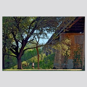 Austin Jogging Trails Poster