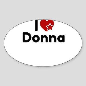 I love Donna Sticker