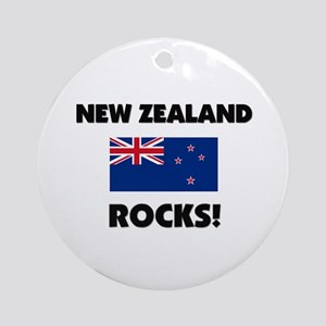 New Zealand Rocks Ornament (Round)