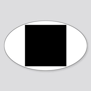 Drum Major - Chrissy Oval Sticker