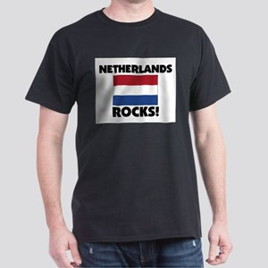 Netherlands Rocks Dark T-Shirt