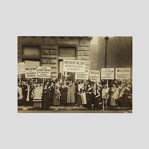 Women Against Wilson Rectangle Magnet